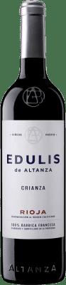 9,95 € Envoi gratuit | Vin rouge Altanza Edulis Crianza D.O.Ca. Rioja La Rioja Espagne Tempranillo Bouteille 75 cl