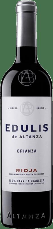 6,95 € Envoi gratuit | Vin rouge Altanza Edulis Crianza D.O.Ca. Rioja La Rioja Espagne Tempranillo Bouteille 75 cl