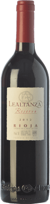 14,95 € Free Shipping | Red wine Lealtanza Reserva 2008 D.O.Ca. Rioja The Rioja Spain Tempranillo Bottle 75 cl
