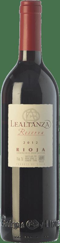 11,95 € Envoi gratuit | Vin rouge Altanza Lealtanza Reserva D.O.Ca. Rioja La Rioja Espagne Tempranillo Bouteille 75 cl