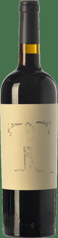 15,95 € Envío gratis | Vino tinto Altavins Tempus Crianza D.O. Terra Alta Cataluña España Merlot, Syrah, Garnacha, Cariñena Botella 75 cl