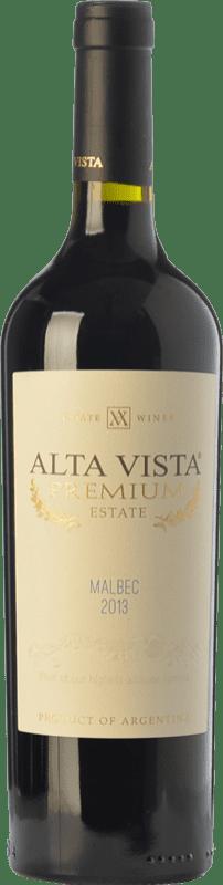 12,95 € Free Shipping | Red wine Altavista Premium Crianza I.G. Mendoza Mendoza Argentina Malbec Bottle 75 cl