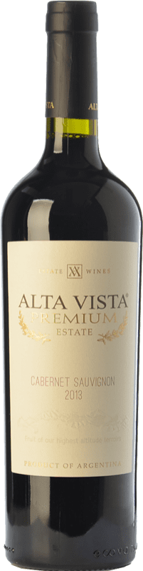 14,95 € Envoi gratuit | Vin rouge Altavista Premium Crianza I.G. Mendoza Mendoza Argentine Cabernet Sauvignon Bouteille 75 cl