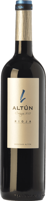 11,95 € Free Shipping | Red wine Altún Crianza D.O.Ca. Rioja The Rioja Spain Tempranillo Bottle 75 cl