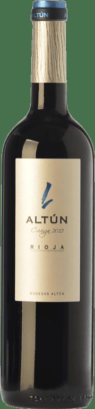 11,95 € Envío gratis | Vino tinto Altún Crianza D.O.Ca. Rioja La Rioja España Tempranillo Botella 75 cl