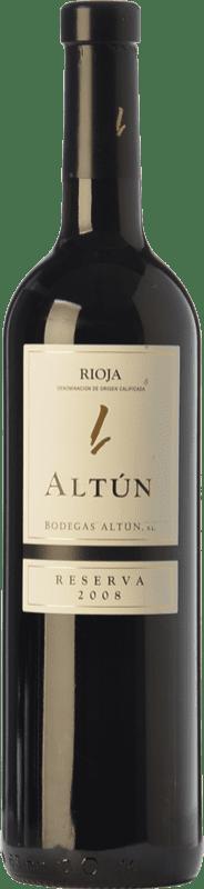 9,95 € Envío gratis | Vino tinto Altún Reserva D.O.Ca. Rioja La Rioja España Tempranillo Botella 75 cl
