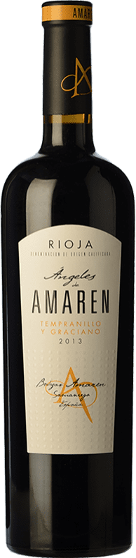 18,95 € Envoi gratuit | Vin rouge Amaren Ángeles Crianza D.O.Ca. Rioja La Rioja Espagne Tempranillo, Graciano Bouteille 75 cl