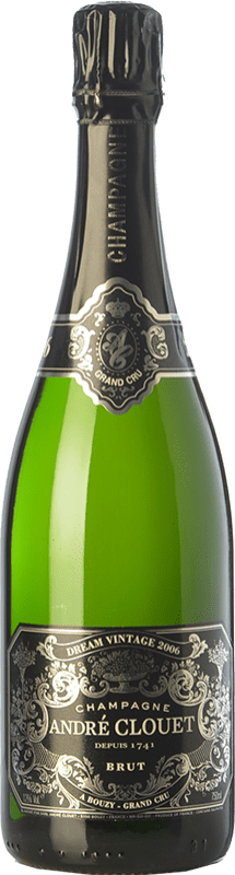51,95 € Free Shipping | White sparkling André Clouet Dream Vintage Grand Cru A.O.C. Champagne Champagne France Chardonnay Bottle 75 cl