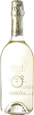 9,95 € Free Shipping | White sparkling Andreola Bollé Brut D.O.C. Prosecco Veneto Italy Glera Bottle 75 cl. | Thousands of wine lovers trust us to get the best price guarantee, free shipping always and hassle-free shopping and returns.