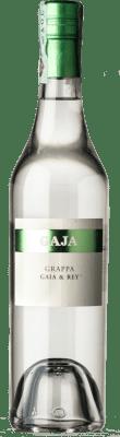 47,95 € Free Shipping | Grappa Gaja Gaja & Rey I.G.T. Grappa Piemontese Piemonte Italy Half Bottle 50 cl