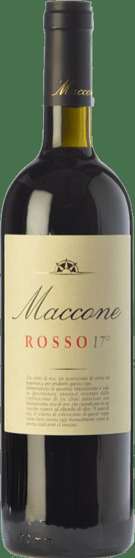 26,95 € Free Shipping | Red wine Angiuli Rosso 17° Maccone I.G.T. Puglia Puglia Italy Primitivo Bottle 75 cl