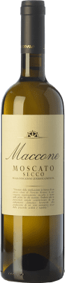 13,95 € Kostenloser Versand | Weißwein Angiuli Moscato Secco Maccone I.G.T. Puglia Apulien Italien Muscat Bianco Flasche 75 cl