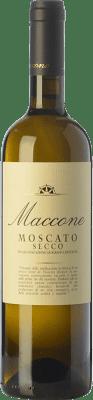 15,95 € Free Shipping | White wine Angiuli Moscato Secco Maccone I.G.T. Puglia Puglia Italy Muscatel White Bottle 75 cl