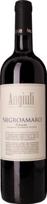 9,95 € Free Shipping | Red wine Angiuli I.G.T. Puglia Puglia Italy Negroamaro Bottle 75 cl