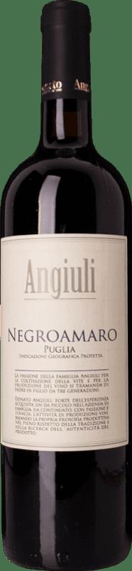 9,95 € Free Shipping | Red wine Angiuli I.G.T. Puglia Puglia Italy Negroamaro Bottle 75 cl