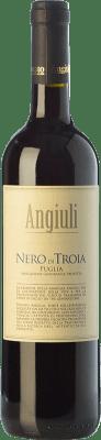 9,95 € Kostenloser Versand | Rotwein Angiuli I.G.T. Puglia Apulien Italien Nero di Troia Flasche 75 cl