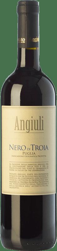 9,95 € Free Shipping | Red wine Angiuli I.G.T. Puglia Puglia Italy Nero di Troia Bottle 75 cl