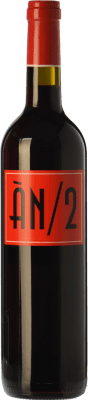 18,95 € Envío gratis | Vino tinto Ànima Negra ÀN/2 Crianza I.G.P. Vi de la Terra de Mallorca Islas Baleares España Cabernet Sauvignon, Callet, Fogoneu Botella 75 cl