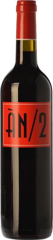 19,95 € Free Shipping | Red wine Ànima Negra ÀN/2 Crianza I.G.P. Vi de la Terra de Mallorca Balearic Islands Spain Cabernet Sauvignon, Callet, Fogoneu Bottle 75 cl