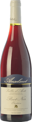 36,95 € Free Shipping | Red wine Anselmet Pinot Nero D.O.C. Valle d'Aosta Valle d'Aosta Italy Pinot Black Bottle 75 cl