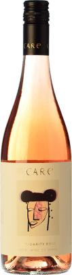 8,95 € Free Shipping | Rosé wine Añadas Care D.O. Cariñena Aragon Spain Tempranillo, Cabernet Sauvignon Bottle 75 cl