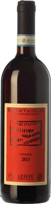 24,95 € Free Shipping | Red wine Ar.Pe.Pe. D.O.C. Valtellina Rosso Lombardia Italy Nebbiolo Bottle 75 cl