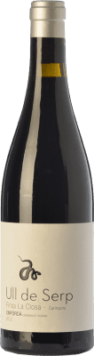 36,95 € Free Shipping | Red wine Arché Pagés Ull de Serp Carinyena Crianza D.O. Empordà Catalonia Spain Carignan Bottle 75 cl
