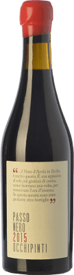 48,95 € Kostenloser Versand | Süßer Wein Arianna Occhipinti Passo Nero I.G.T. Terre Siciliane Sizilien Italien Nero d'Avola Halbe Flasche 50 cl