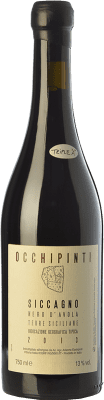 35,95 € Kostenloser Versand | Rotwein Arianna Occhipinti Siccagno I.G.T. Terre Siciliane Sizilien Italien Nero d'Avola Flasche 75 cl