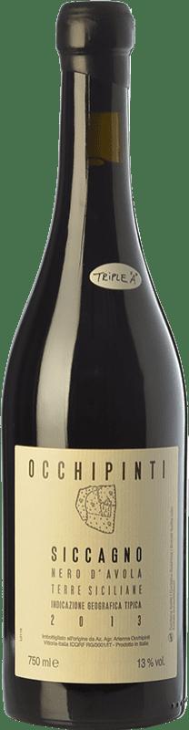 35,95 € Free Shipping | Red wine Arianna Occhipinti Siccagno I.G.T. Terre Siciliane Sicily Italy Nero d'Avola Bottle 75 cl