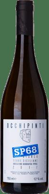 18,95 € Envío gratis | Vino blanco Arianna Occhipinti SP68 Bianco I.G.T. Terre Siciliane Sicilia Italia Moscatel de Alejandría, Albanello Botella 75 cl