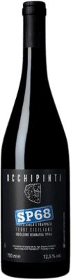 18,95 € Kostenloser Versand | Rotwein Arianna Occhipinti SP68 Rosso I.G.T. Terre Siciliane Sizilien Italien Nero d'Avola, Frappato Flasche 75 cl