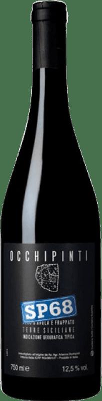 18,95 € Free Shipping | Red wine Arianna Occhipinti SP68 Rosso I.G.T. Terre Siciliane Sicily Italy Nero d'Avola, Frappato Bottle 75 cl
