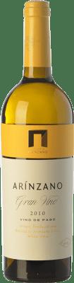 75,95 € Free Shipping | White wine Arínzano Gran Vino Crianza 2010 D.O.P. Vino de Pago de Arínzano Navarre Spain Chardonnay Bottle 75 cl