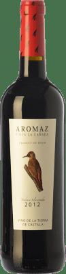5,95 € Free Shipping | Red wine Aromaz Joven I.G.P. Vino de la Tierra de Castilla Castilla la Mancha Spain Tempranillo Bottle 75 cl