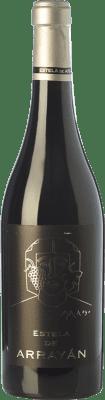 37,95 € Free Shipping | Red wine Arrayán Estela Crianza D.O. Méntrida Castilla la Mancha Spain Merlot, Syrah, Cabernet Sauvignon, Petit Verdot Bottle 75 cl