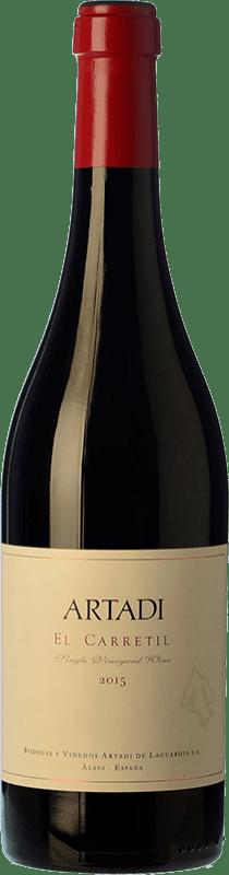 172,95 € Envoi gratuit | Vin rouge Artadi El Carretil Crianza Espagne Tempranillo Bouteille 75 cl