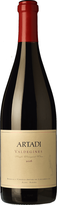 44,95 € Free Shipping   Red wine Artadi Valdeginés Crianza Spain Tempranillo Bottle 75 cl