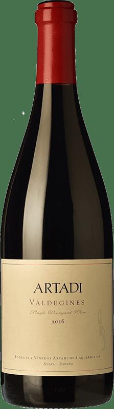29,95 € Envoi gratuit | Vin rouge Artadi Valdeginés Crianza Espagne Tempranillo Bouteille 75 cl