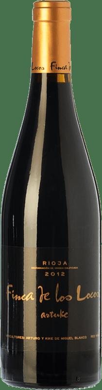 19,95 € Free Shipping | Red wine Artuke Finca Los Locos Crianza D.O.Ca. Rioja The Rioja Spain Tempranillo, Graciano Bottle 75 cl