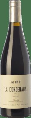 44,95 € Envío gratis | Vino tinto Artuke La Condenada Crianza D.O.Ca. Rioja La Rioja España Tempranillo, Garnacha, Graciano, Palomino Fino Botella 75 cl