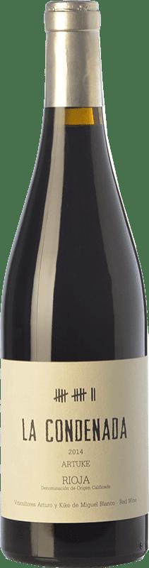 44,95 € Free Shipping | Red wine Artuke La Condenada Crianza D.O.Ca. Rioja The Rioja Spain Tempranillo, Grenache, Graciano, Palomino Fino Bottle 75 cl