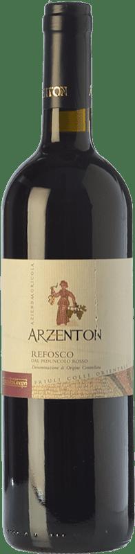 8,95 € Free Shipping | Red wine Arzenton D.O.C. Colli Orientali del Friuli Friuli-Venezia Giulia Italy Refosco Bottle 75 cl