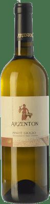 9,95 € Kostenloser Versand | Weißwein Arzenton D.O.C. Colli Orientali del Friuli Friaul-Julisch Venetien Italien Pinot Grau Flasche 75 cl