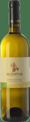 8,95 € Kostenloser Versand | Weißwein Arzenton D.O.C. Colli Orientali del Friuli Friaul-Julisch Venetien Italien Chardonnay Flasche 75 cl