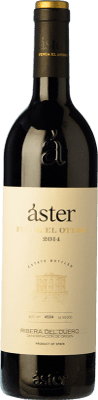 26,95 € Envío gratis | Vino tinto Áster Finca El Otero Crianza D.O. Ribera del Duero Castilla y León España Tempranillo Botella 75 cl