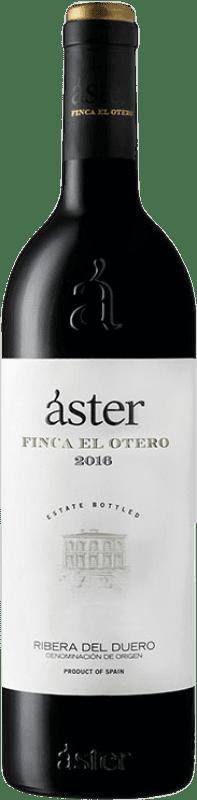 26,95 € Free Shipping | Red wine Áster Finca El Otero Crianza D.O. Ribera del Duero Castilla y León Spain Tempranillo Bottle 75 cl