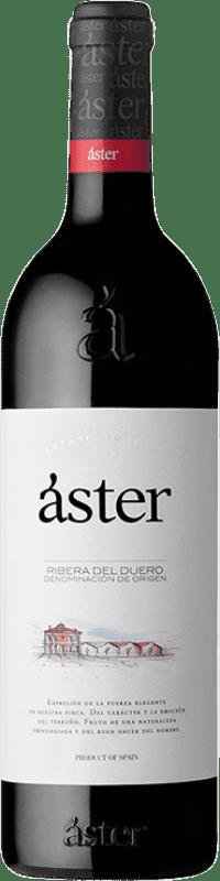 13,95 € Free Shipping | Red wine Áster Crianza D.O. Ribera del Duero Castilla y León Spain Tempranillo Bottle 75 cl