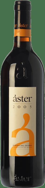 17,95 € Envío gratis | Vino tinto Áster Reserva D.O. Ribera del Duero Castilla y León España Tempranillo Botella 75 cl