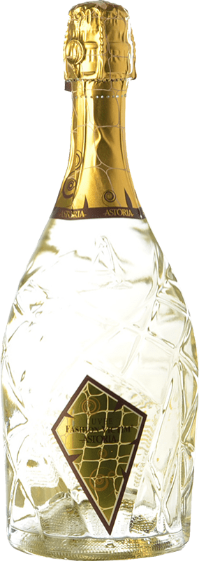 17,95 € Free Shipping | White sparkling Astoria Fashion Victim Cuvée Brut Italy Bottle 75 cl